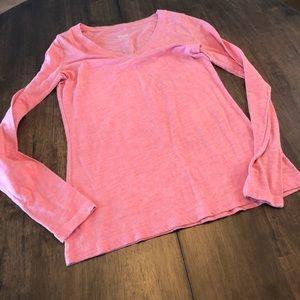 Women's Small Mossimo Pink long sleeve shirt